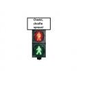 """Nová informačná tabuľa - """"Chodci, choďte vpravo"""""""