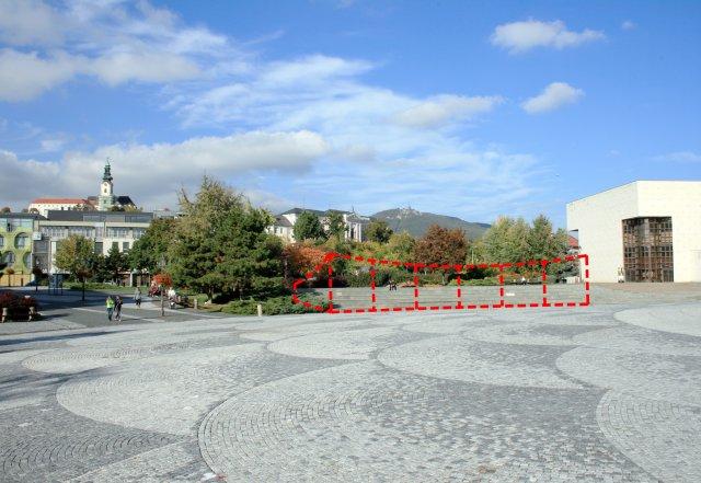 Pavilón na námestí