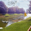 Nový breh rieky Nitra