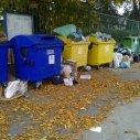 kruhový objazd objazd pri smetisku