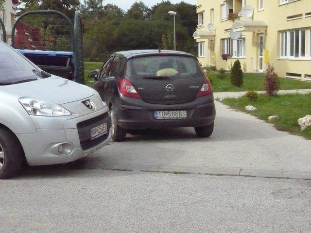 Parkovanie a oddychová zóna