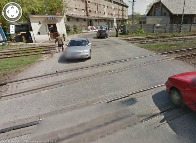 Želenzničné priecestie Staničná ul.
