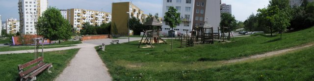 Revitalizácia zelene obytného súboru na Bellovej ulici 2