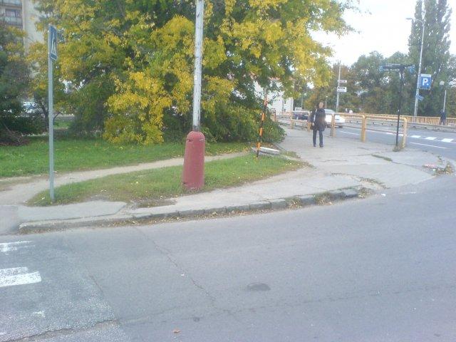 Dobudovanie chodníka
